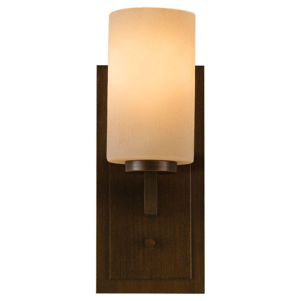 Feiss Preston 1-Light Heritage Bronze Vanity Light