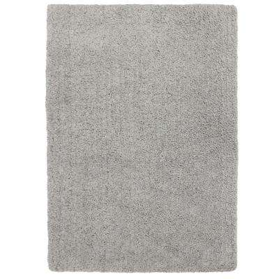 Elegance Shag Gray 8 ft. x 10 ft. Area Rug