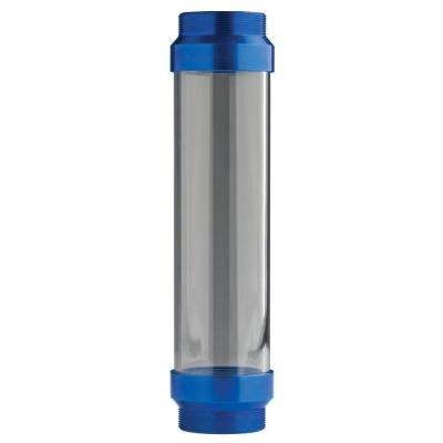 UltraView Clear Tube with Blue Ends
