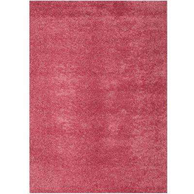 Domino Pink 7 ft. 9 in. x 10 ft. 6 in. Area Rug