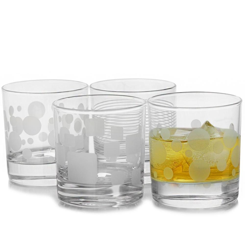 Trend 10.25 oz. Old Fashioned Glass (4-Piece)