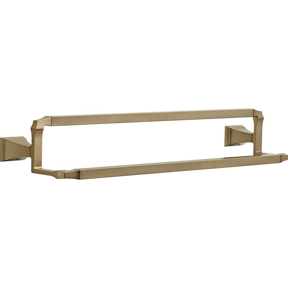 Delta Victorian 24 In Towel Bar In Champagne Bronze 75024