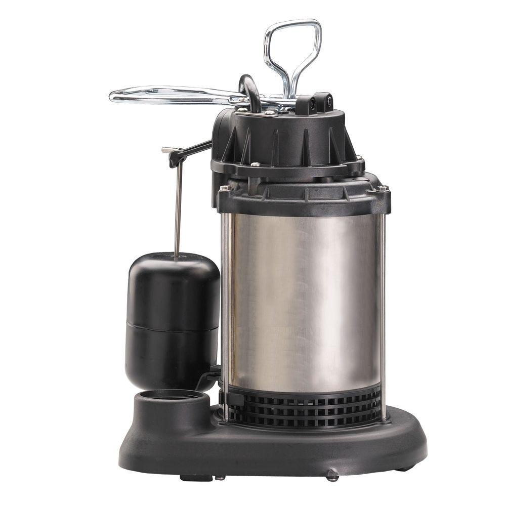 Wayne 1/2 HP Stainless Steel Sump Pump with Vertical Float Switch-DISCONTINUED