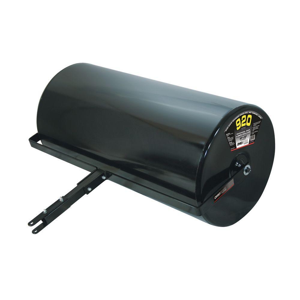 Ohio Steel Professional Grade 24 in. x 52 in. 920 lb. Steel Lawn Roller