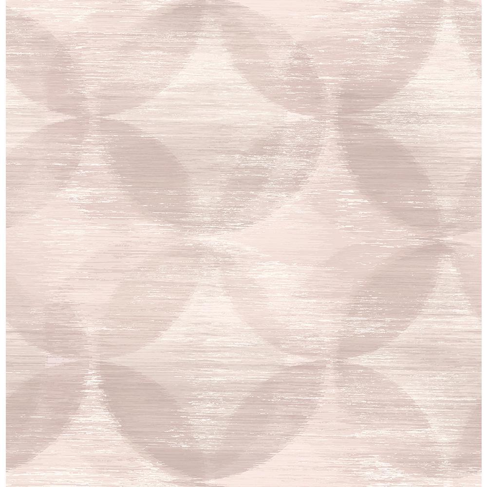 56.4 sq. ft. Alchemy Blush Geometric Wallpaper