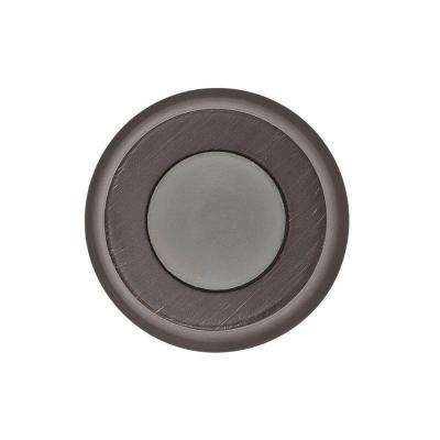 1 in. Venetian Bronze Convex Wall Mounted Door Stop