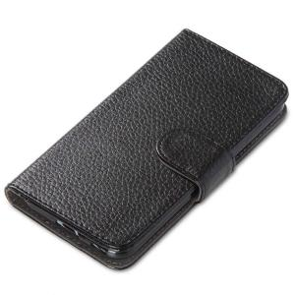 i-Blason Leather Book Wallet Case for HTC One M9 Case, Black by i-Blason