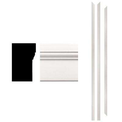4Ever Frame 180 1-1/4 in. x 2 in. x 83-1/2 in. Primed Composite Patio Brickmould Kit (3-Piece)