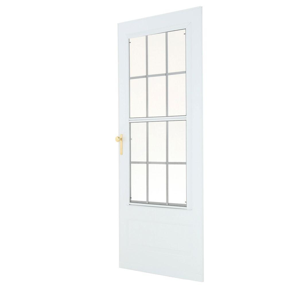 36 X 80 Emco Storm Doors Exterior Doors The Home Depot