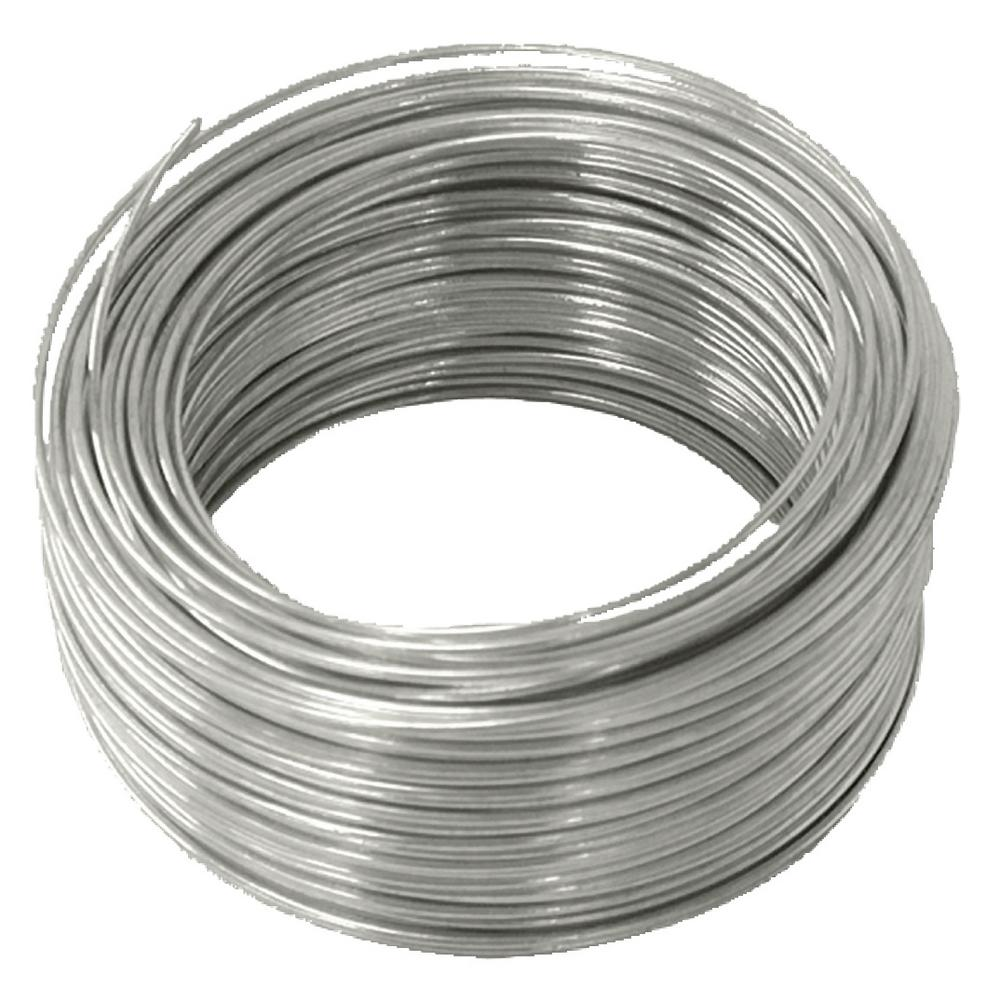 Galvanised Modelling Wire 1mm x 80m Non-Rusting Soft Steel Wire Roll by ®
