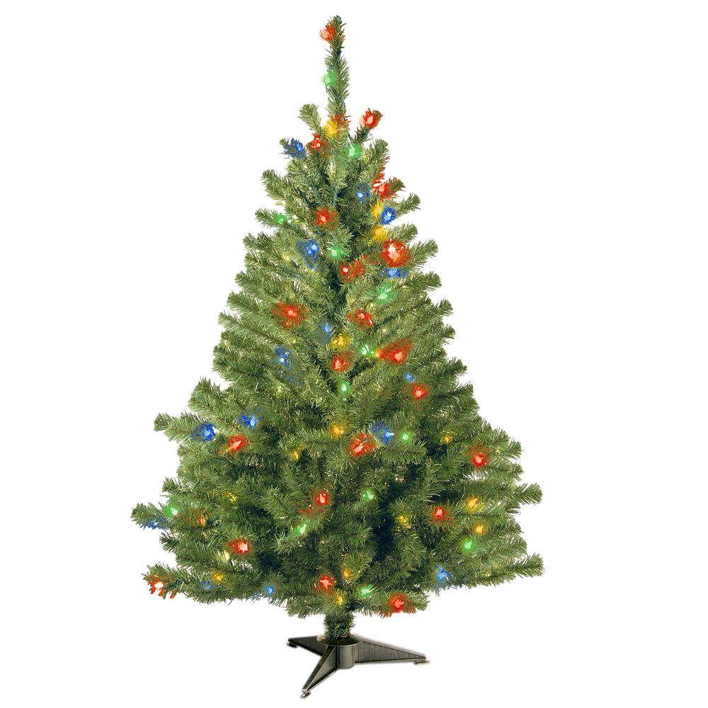 National Tree Company 4 ft. Kincaid Spruce Artificial Christmas Tree ...