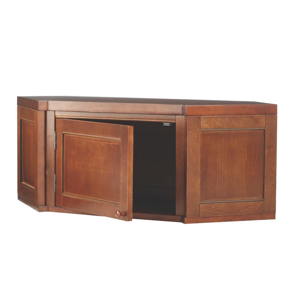 Internet #300804469. Martha Stewart Living Mudroom Sequoia Angled Corner  Cabinet