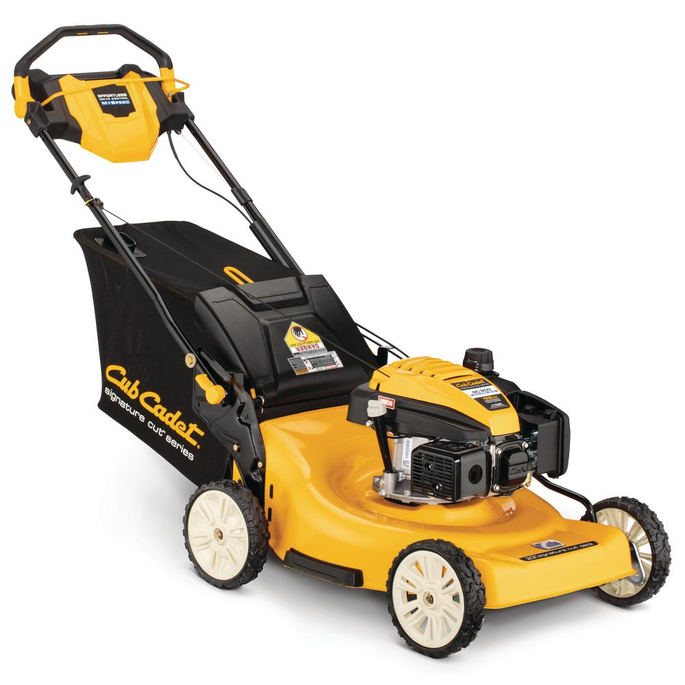Cub Cadet SC900 23 in  196 cc Engine with High Rear-Wheel Drive 3-in-1 Gas  Self Propelled Walk Behind Lawn Mower