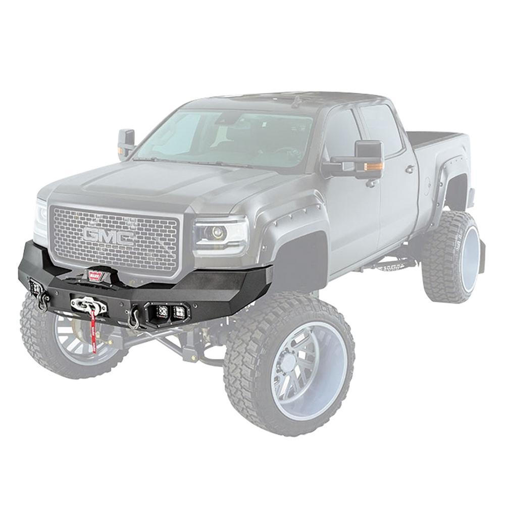 Truck Front Bumper >> Warn Ascent Front Bumper For Gmc 2500 2017