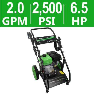 Pressure Storm Series 2,500 psi 2.0 GPM AR Axial Cam Pump Recoil Start Gas Pressure Washer
