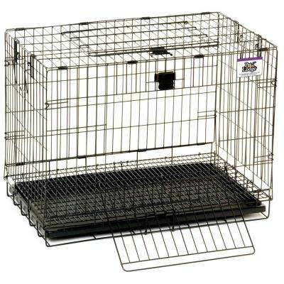 24 in. Wire Pop Up Rabbit Cage