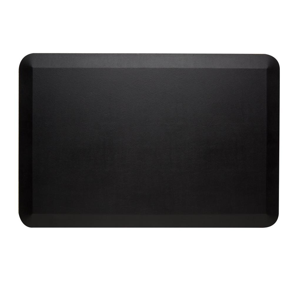 CumulusPRO Black 20 in. x 30 in. Anti-Fatigue Comfort Mat