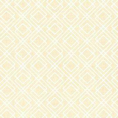 Milly Taupe Lattice Wallpaper Sample