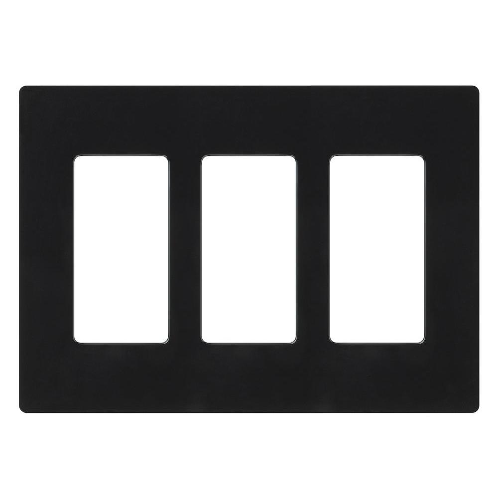 Black Switch Plates Amazing 3  Black  Switch Plates  Wall Plates  The Home Depot Design Decoration