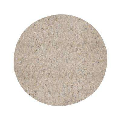 9 ft. 6 in. x 9 ft. 6 in. Dual Surface Round Rug Pad