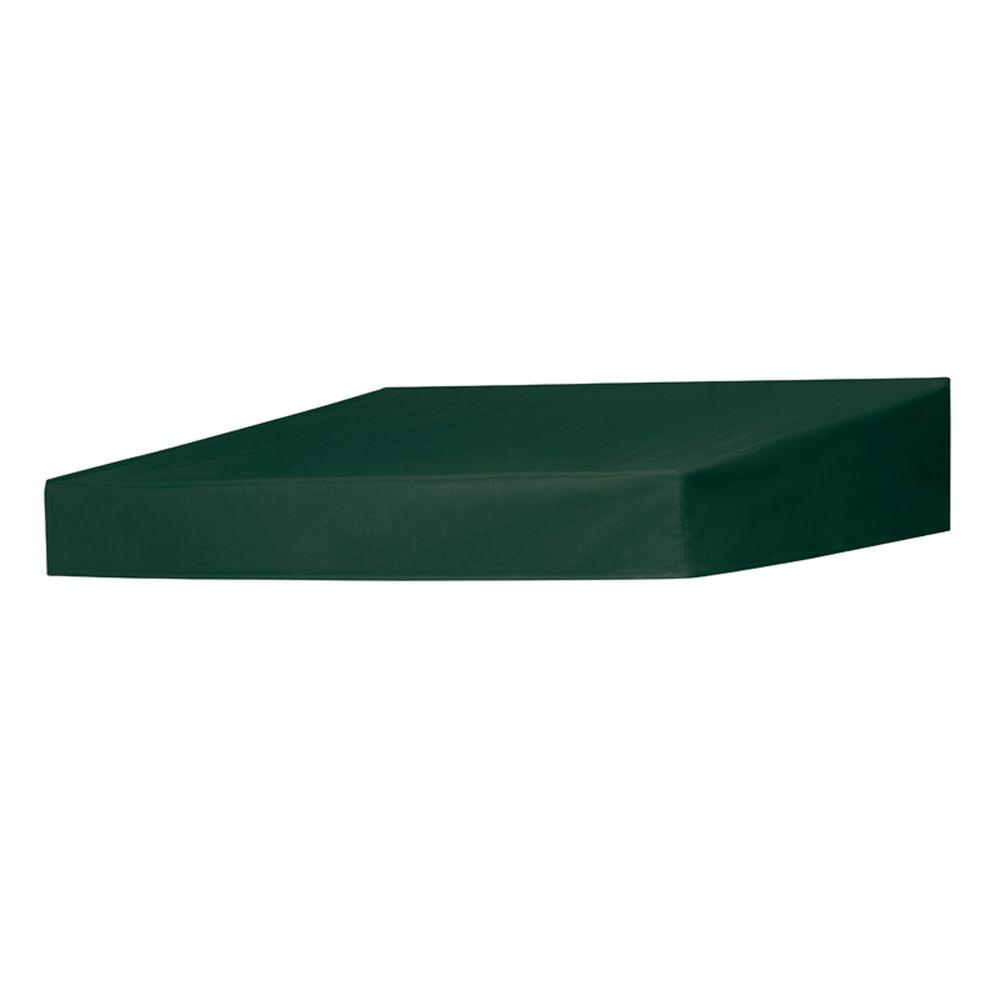 6 ft. Classic Non-Retractable Door Canopy (50 in.Projection) in Forest Green