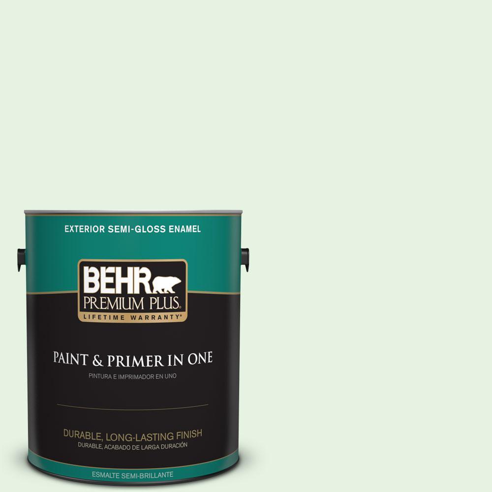 1-gal. #440A-2 Sea Cap Semi-Gloss Enamel Exterior Paint