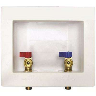 Washer Outlet Box with Valves