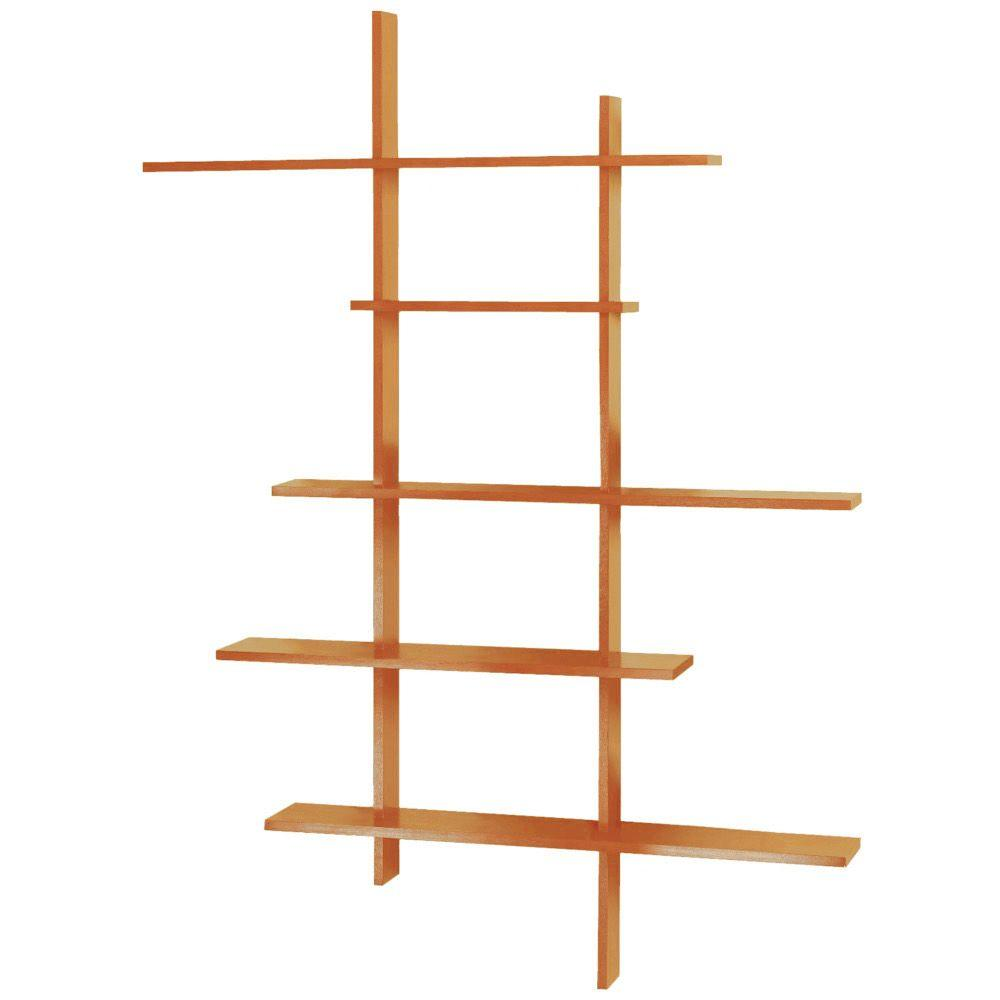 Home Decorators Collection 66 In X 50 In Deluxe Tall Display Shelf 4063410830 The Home Depot