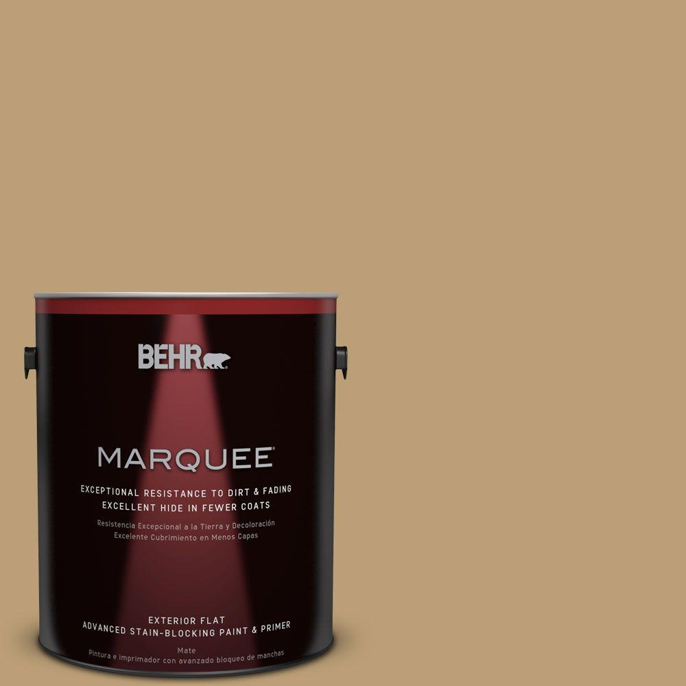1-gal. #PMD-50 Winter Wheat Flat Exterior Paint