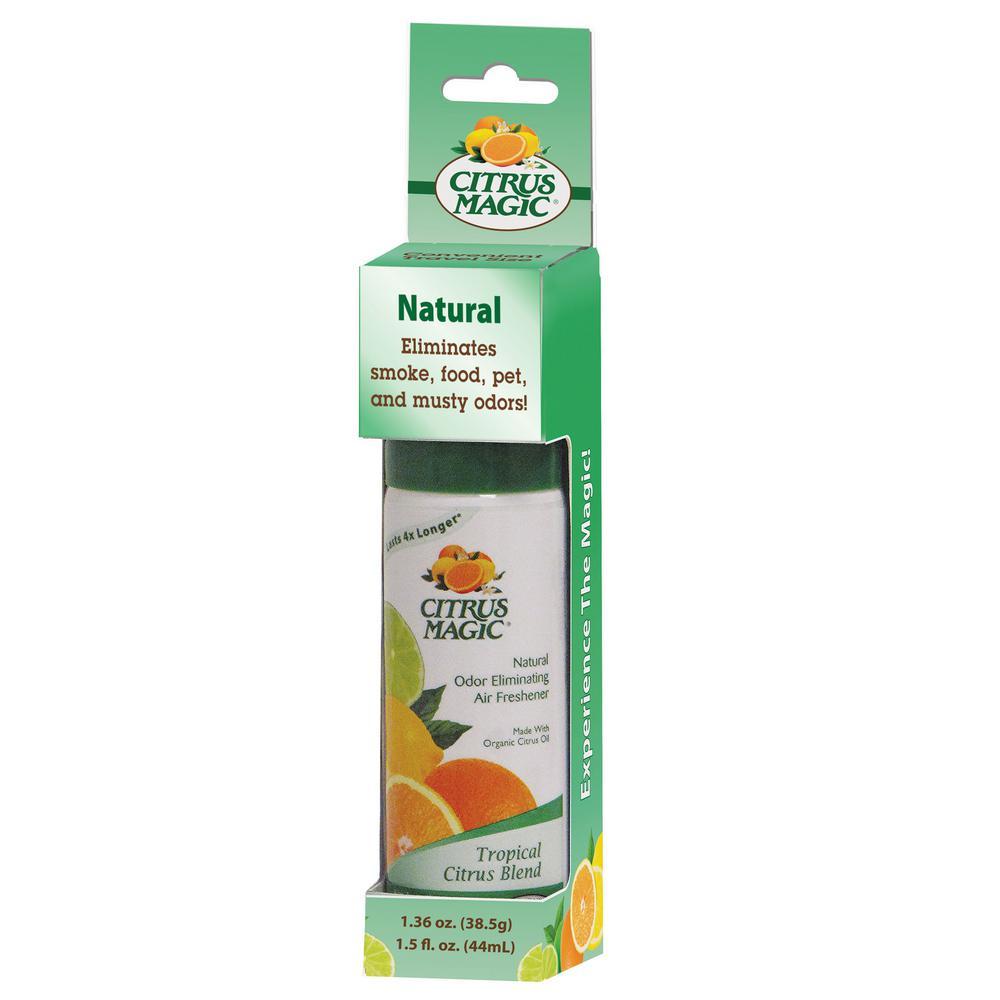 1.5 oz. Tropical Citrus Blend Spray Air Freshener Blister Card