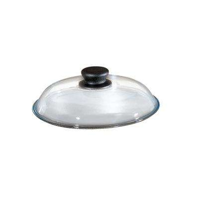 11.5 in. High Domed Pyrex Glass Lid