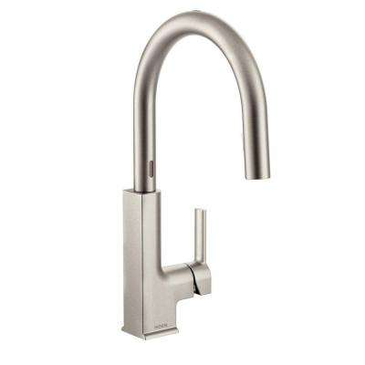 STo Single-Handle Pull-Down Sprayer Touchless Kitchen Faucet with MotionSense in Spot Resist Stainless