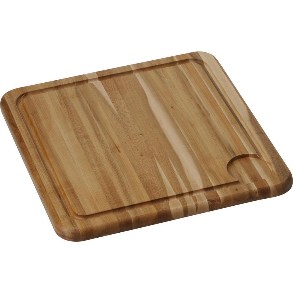 Elkay solid maple cutting board lkcbeg hw the home depot