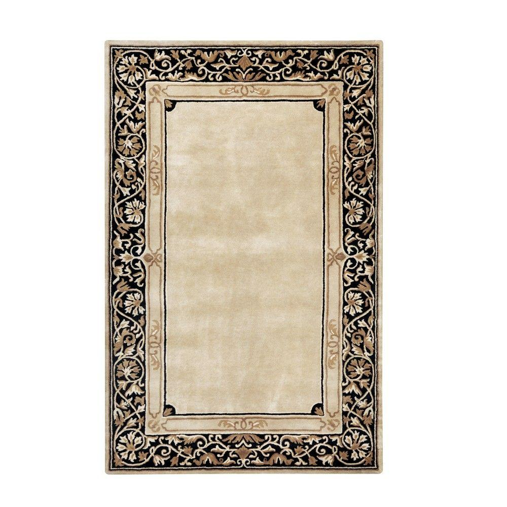 Home Decorators Collection Churchill Beige 5 ft. 3 in. x 8 ft. 3 in. Area Rug