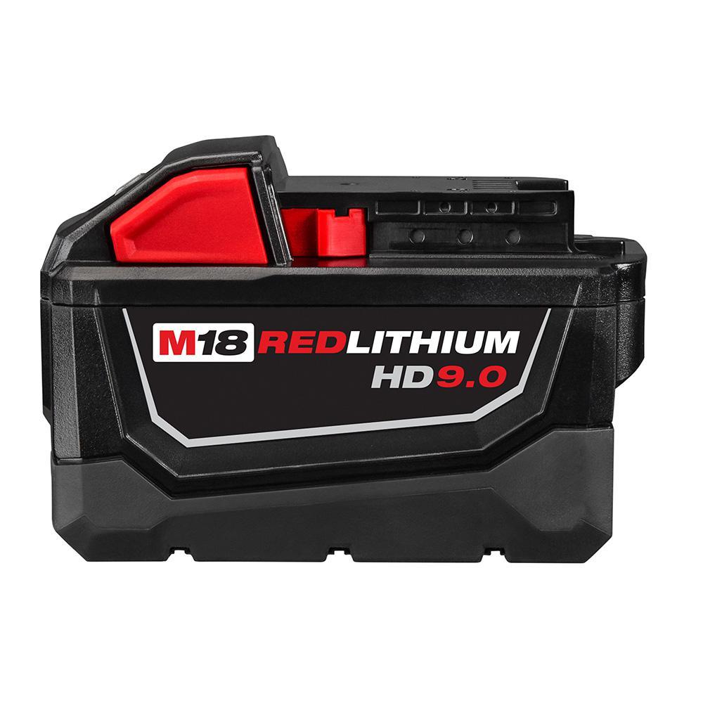 Milwaukee M18 18 Volt Lithium Ion High Demand Battery Pack 9 0ah