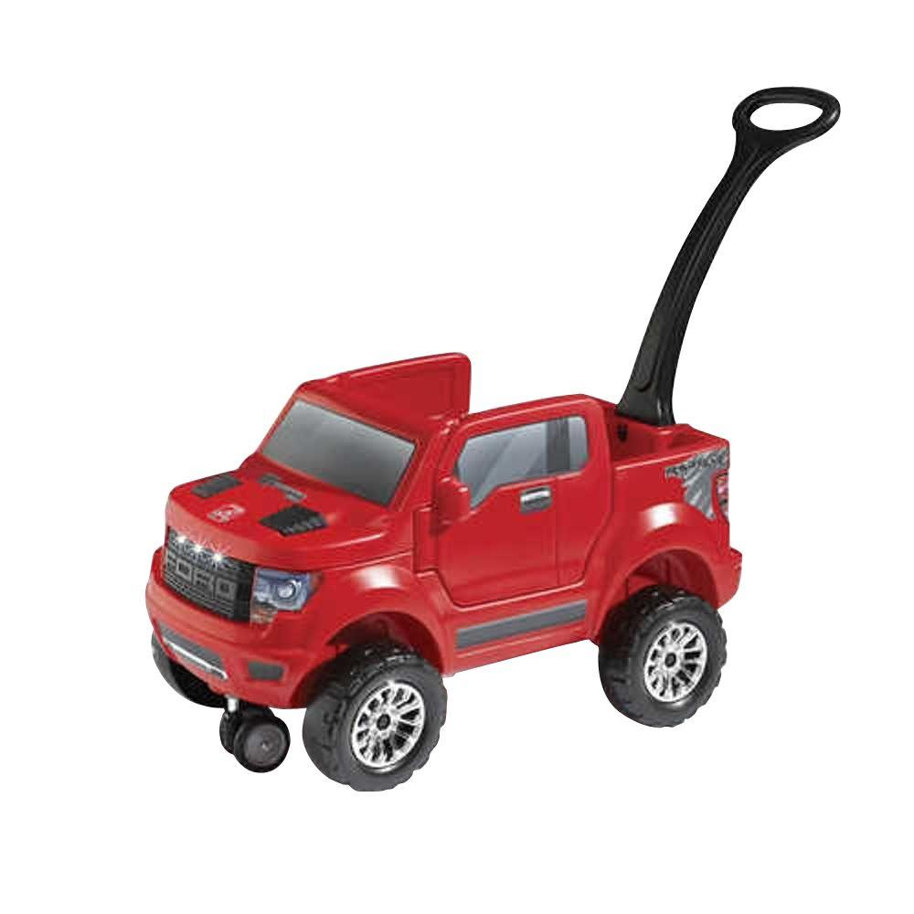 Step2 2-In-1 Ford F-150 SVT Raptor Truck in Red-840700 - The Home Depot