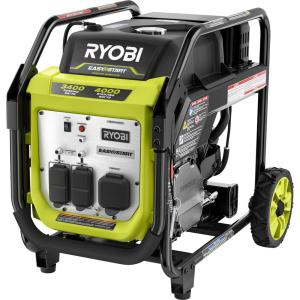 RYOBI Bluetooth 2,300 Starting Watt Super Quiet Gasoline