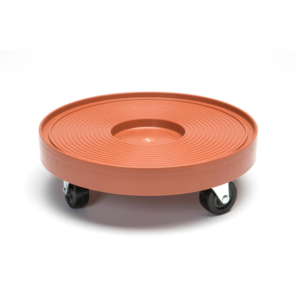 Devault Enterprises 12 in. Plant Dolly/Caddy Terra Cotta