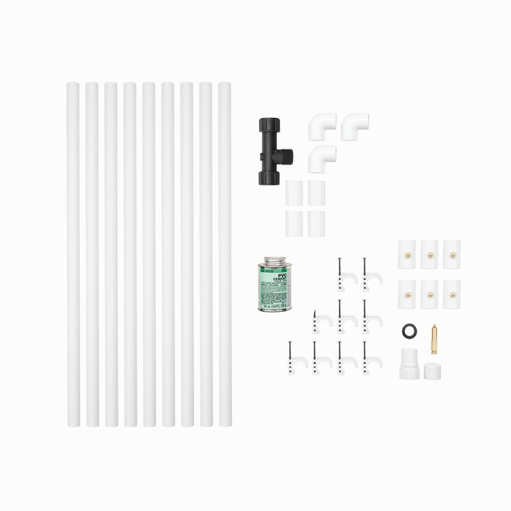 RYOBI 1/2 in. x 12 ft. Professional PVC Misting Kit