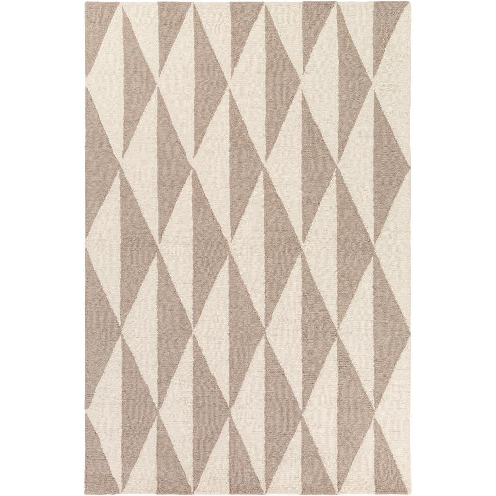 Hilda Sonja Ivory 8 ft. x 10 ft. Indoor Area Rug