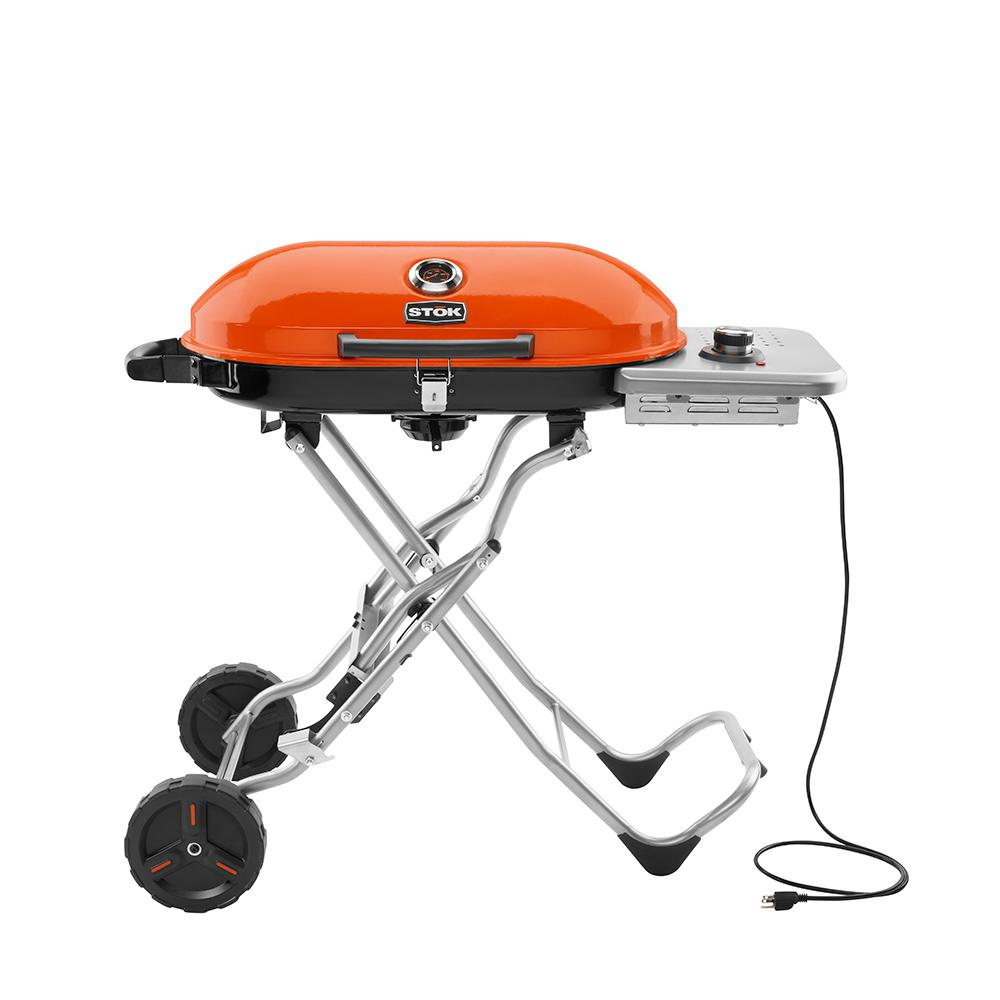 STOK Gridiron 1-Burner Portable Electric Grill With Insert