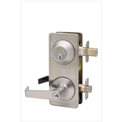 Satin Stainless Grade 2 Interconnect Entry Lever