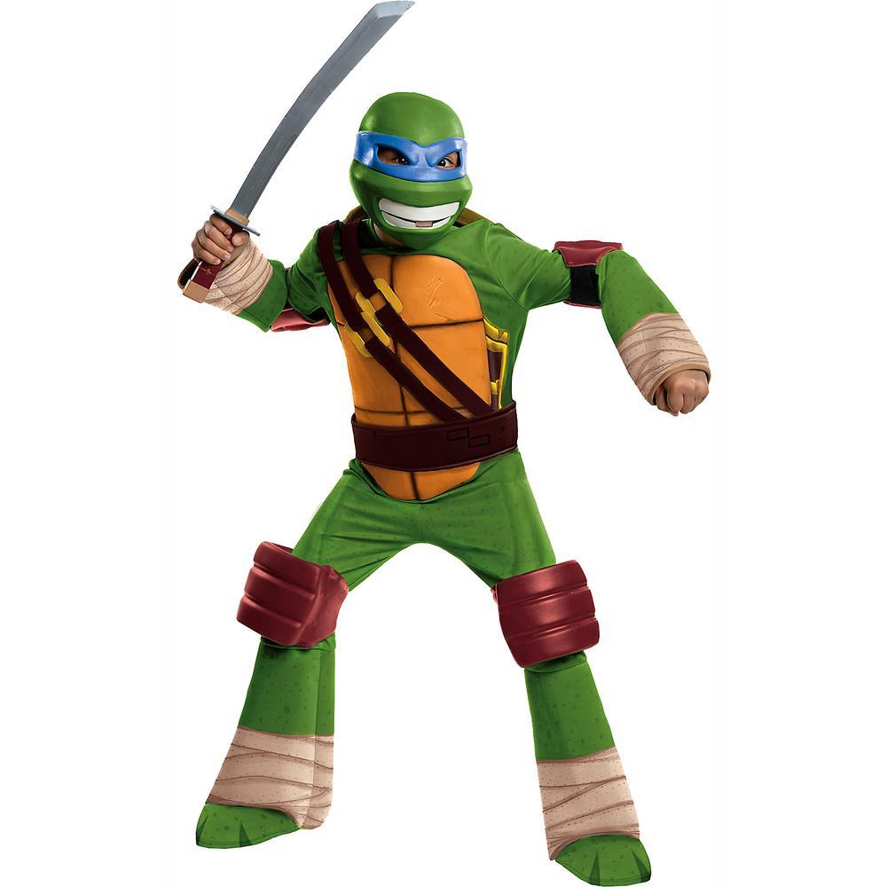 Children Costume Large Rubie/'s Official Teenage Mutant Ninja Turtle Deluxe