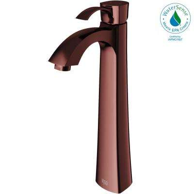 Otis Single Hole Single-Handle Vessel Bathroom Faucet in Oil Rubbed Bronze