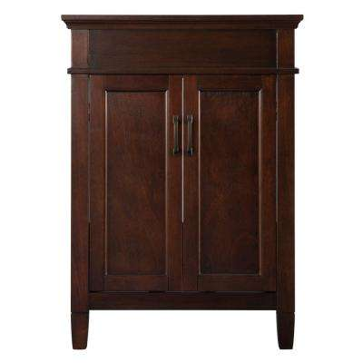 Ashburn 24 in. W Bath Vanity Cabinet Only in Mahogany