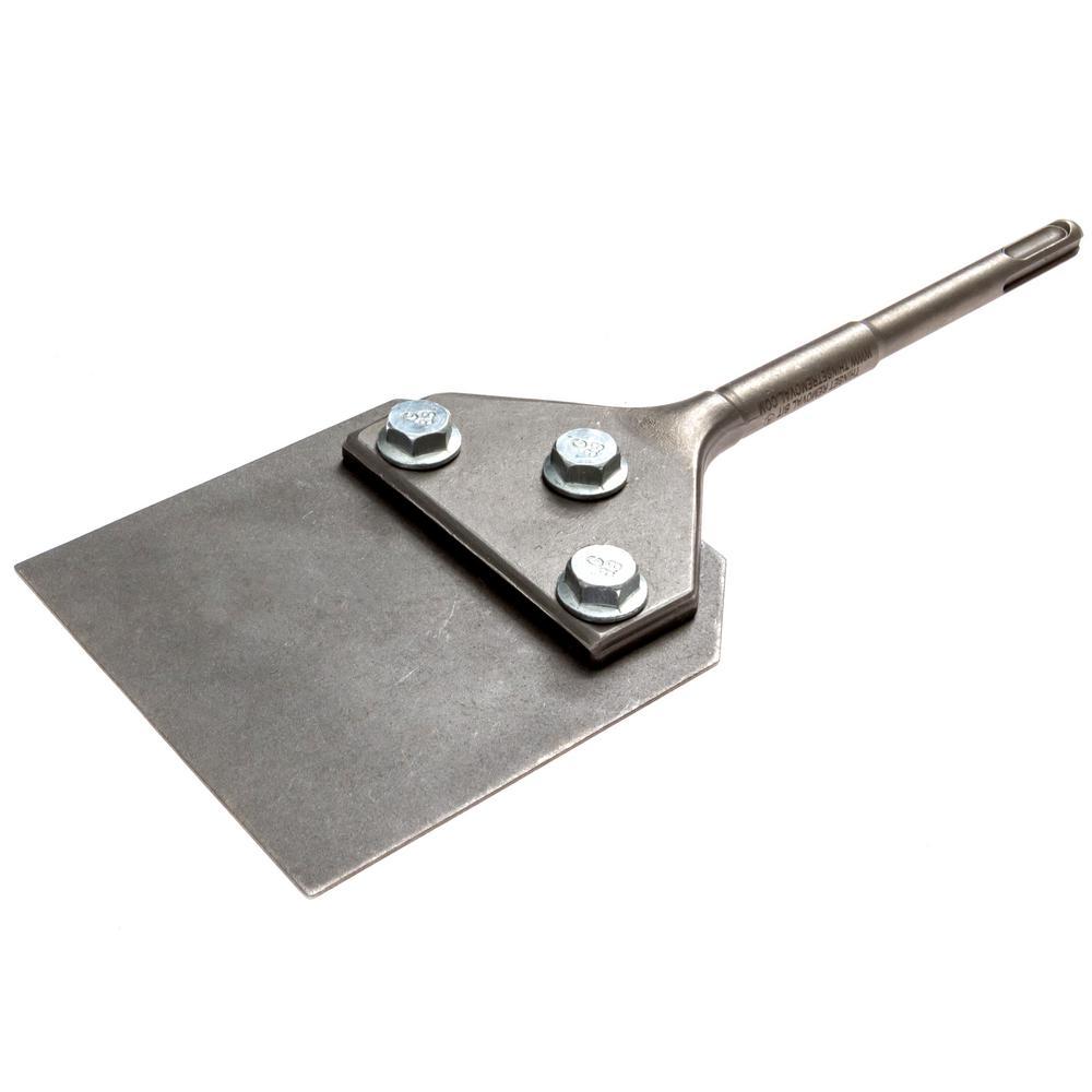 4 in. SDS-Plus Floor Scraper Assembly