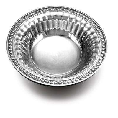 Flutes and Pearls 18 oz. Round Snack Bowl
