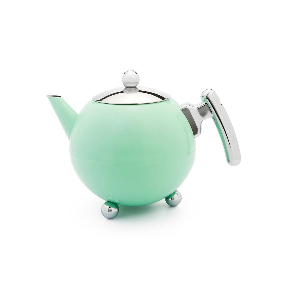 41 fl. oz. Mint Green Belle Ronde Teapot