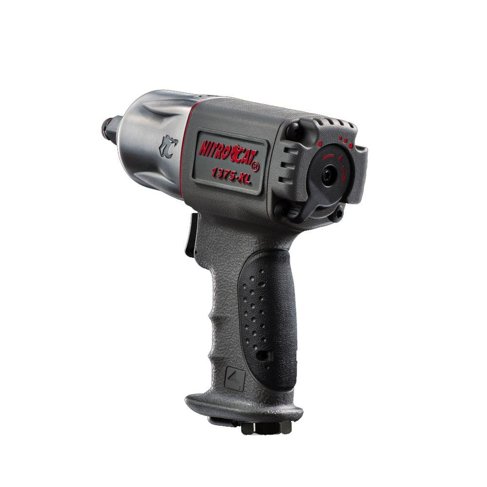 Nitrocat 1/2 in. Extreme Power Compact Impact Wrench