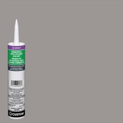 Commercial #165 Delorean Gray 10.1 oz. Silicone Caulk
